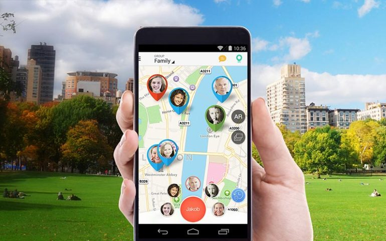 tracker app for location of member