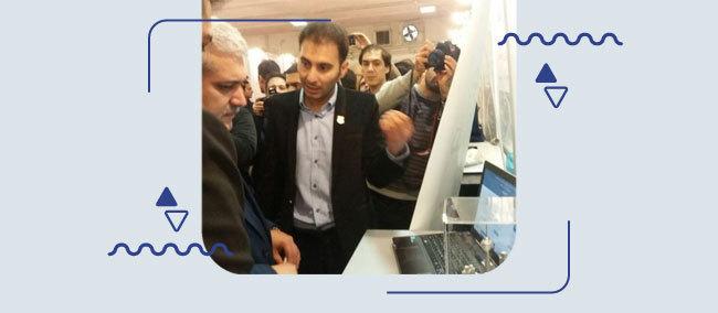 بازدید-دکتر-ستاری-معاونت-علم-و-فناوری-از-سامانه-همیاب-۲۴-در-نمایشگاه-الکامپ۹۵