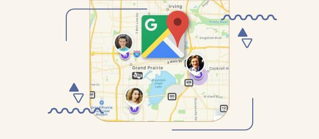 ردیابی لحظه ای موقعیت مکانی افراد در نقشه گوگل (Google Map)