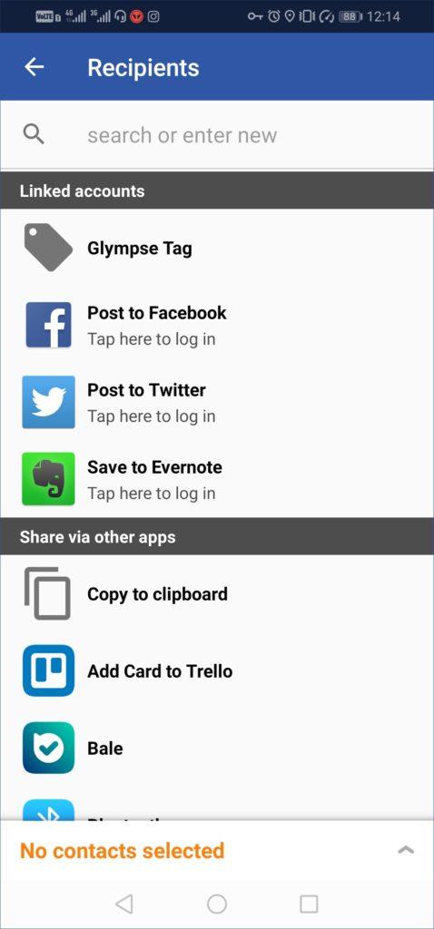 اپلیکیشن ردیابی موقعیت مکانی اعضای خانواده Glympse