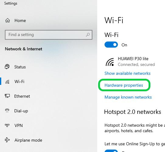 نحوه پیدا کردن مک آدرس در گوشی و لپ تاپ