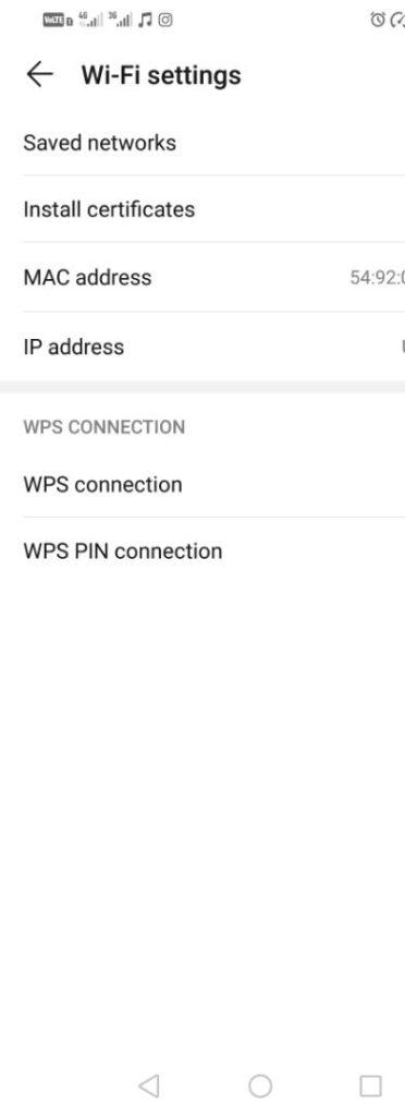 آموزش پیدا کردن آدرس IP و آدرس MAC در  Android