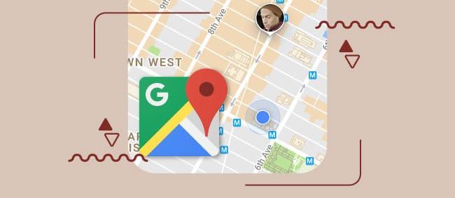 ردیابی موقعیت مکانی از طریق google maps