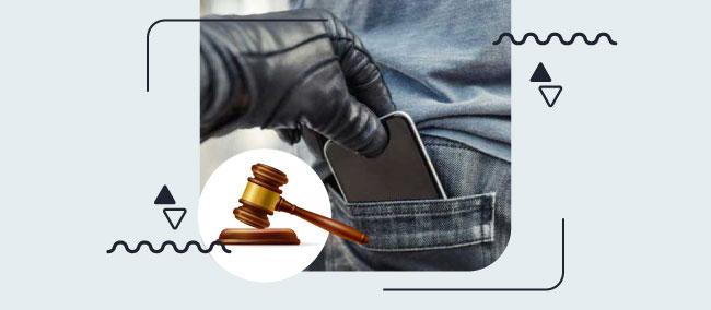 مجازات خرید و استفاده از گوشی سرقتی