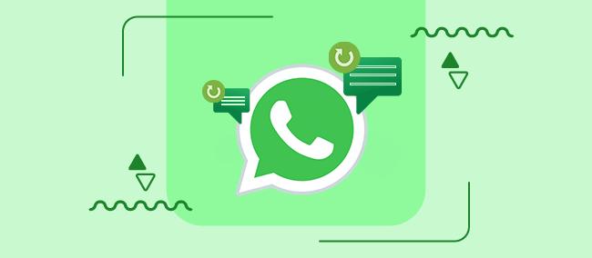 آموزش 3 روش بازگردانی پیام های پاک شده در واتساپ