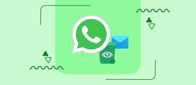 خواندن پیام های پاک شده واتساپ