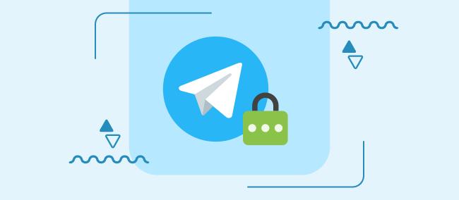 پسورد گذاشتن برای تلگرام