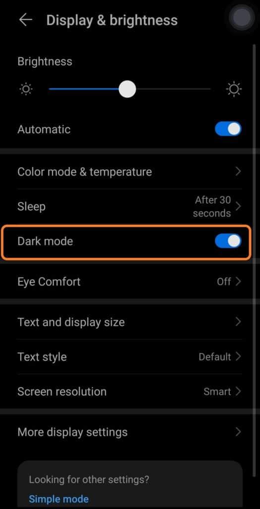 نحوه فعال سازی حالت تاریک واتساپ در ایفون