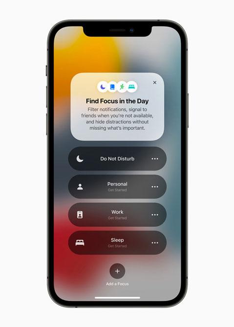 ابزاری برای Focus در ios15 در گوشی iPhone12Pro