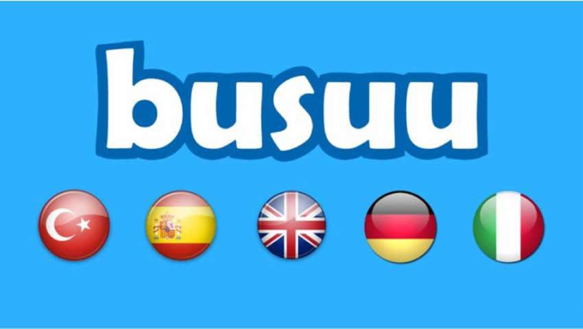 اپلیکیشن کمک درسی Busuu