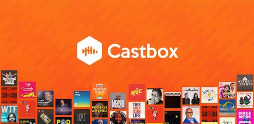 برنامه پادکست Castbox