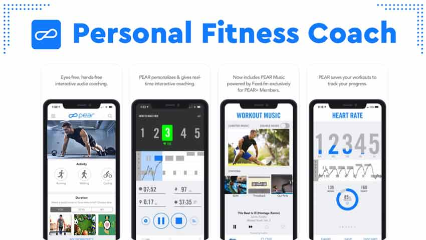 برنامه تمرین در خانه :PEAR Personal Fitness Coach