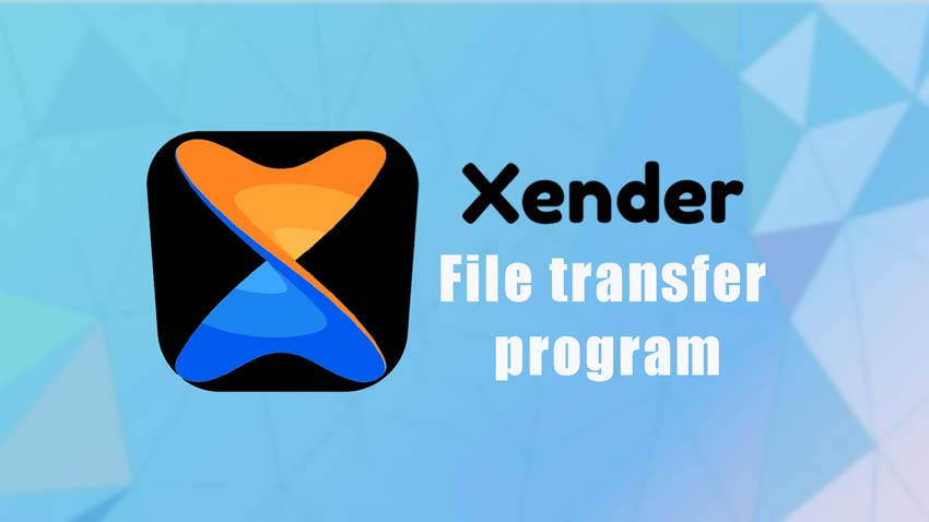 برنامه انتقال فایل Xender