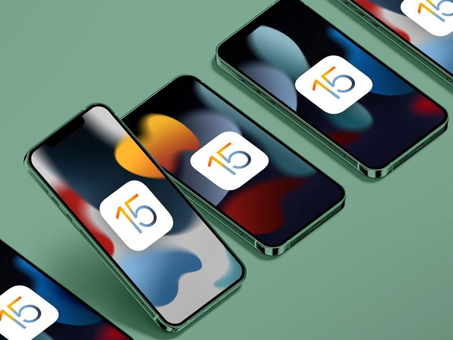 مدلهایی که از ios 15 پشتیبانی میکنند